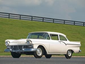 1957 Ford Custom Tudor Sedan 312 Thunderbird Special